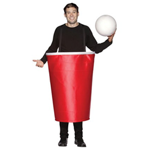 Giant Red Cup Costume