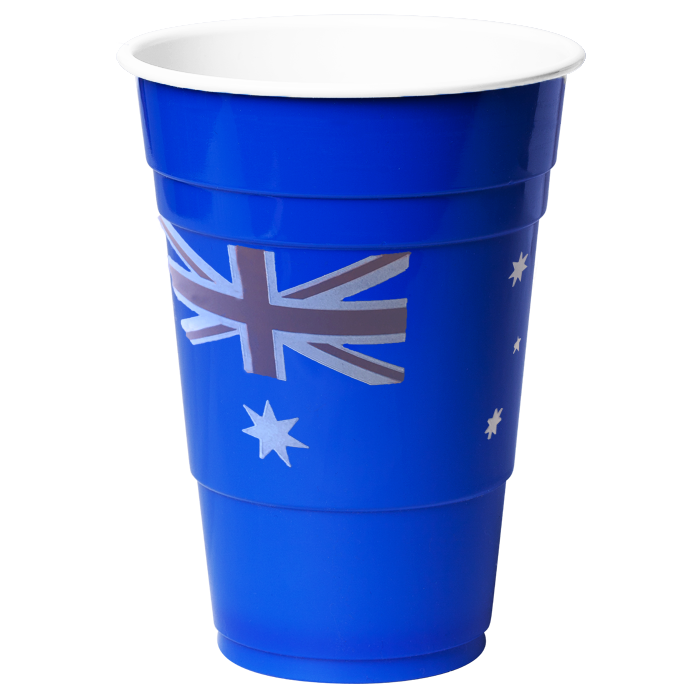 Australia Day Blue Cups